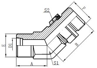 Deseño de accesorios de perno axustable
