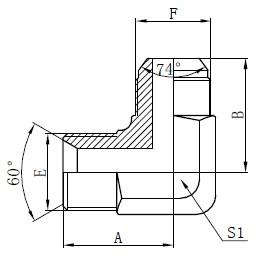 Deseño de adaptadores hidráulicos BSP