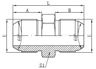 Deseño de adaptadores métricos JIS