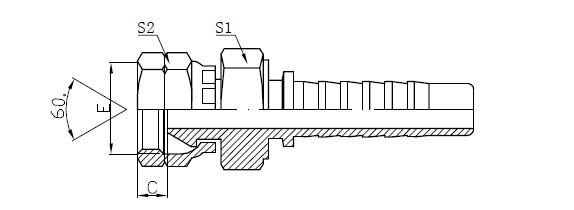 Montaxe de mangueira de baixa presión