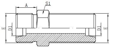 Deseño de conectores métricos