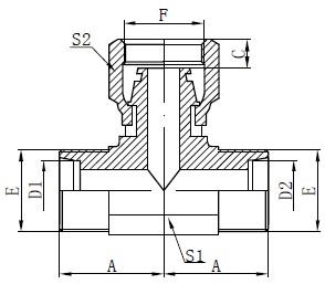 Dibujado métrico de manguera métrica