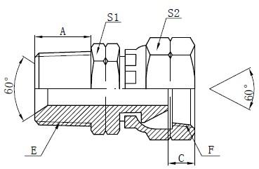 Deseño de accesorios para adaptadores NPSM