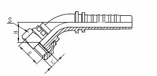 Montaxe de mangueras hidráulicas R1AT