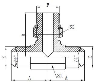 Deseño do adaptador de xefe do anel SAE