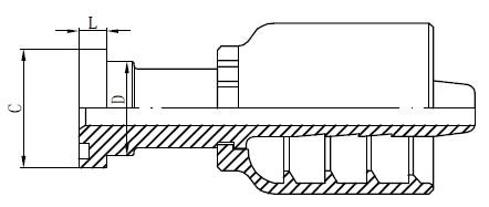 Deseño de accesorios hidráulicos de aceiro inoxidable